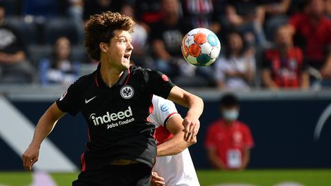 Sam Lammers von Eintracht Frankfurt