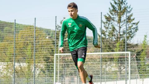 Dejan Ljubicic beim Training
