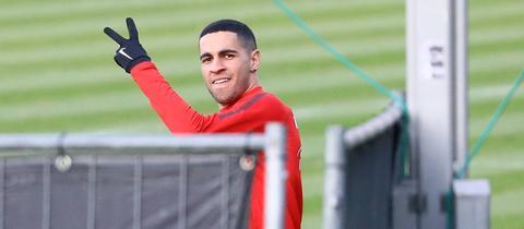 Omar Mascarell im Training der Eintracht