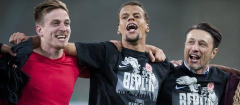 Oczipka, Chandler und Kovac feiern in Berlin