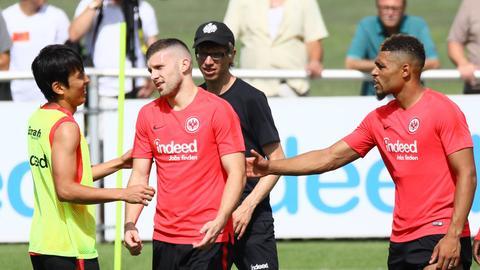 Ante Rebic im Training der Eintracht