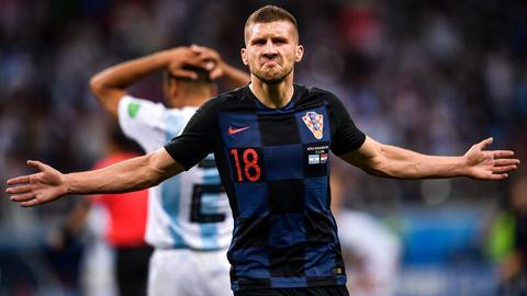 Ante Rebic bejubelt seinen Treffer gegen Argentinien