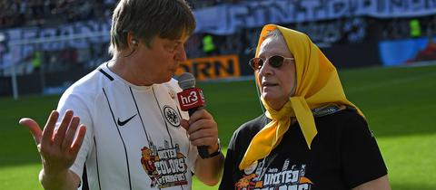 Frankfurts Stadionsprecher Andre Rothe
