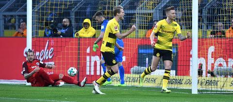 Marco Russ nach seinem Eigentor in Dortmund
