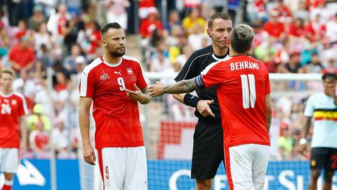 Haris Seferovic im Schweizer Nationaldress