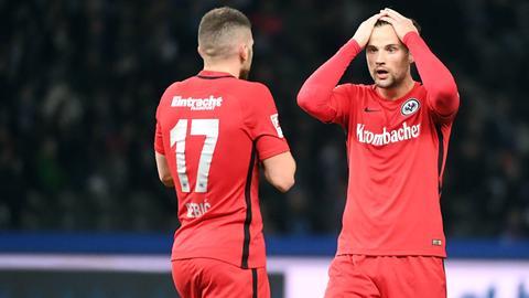 Haris Seferovic von Eintracht Frankfurt
