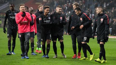 Spieler von Eintracht Frankfurt