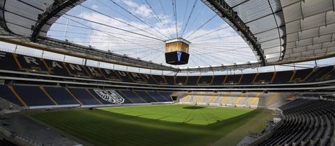 Die Arena von Eintracht Frankfurt