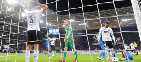 Eintracht fängt Last-Minute-Gegentor in Hoffenheim