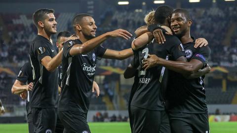 Europa League: Frankfurt zittert sich zum ersten Sieg - 1:0 in Guimarães