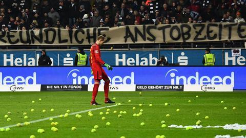 Bilder vom Spiel Eintracht gegen Leipzig