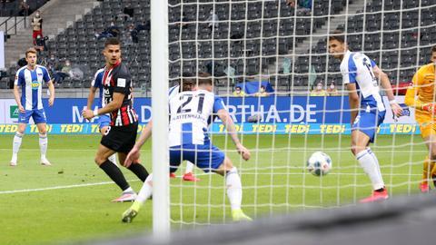 Silva erzielt in Berlin ein Tor