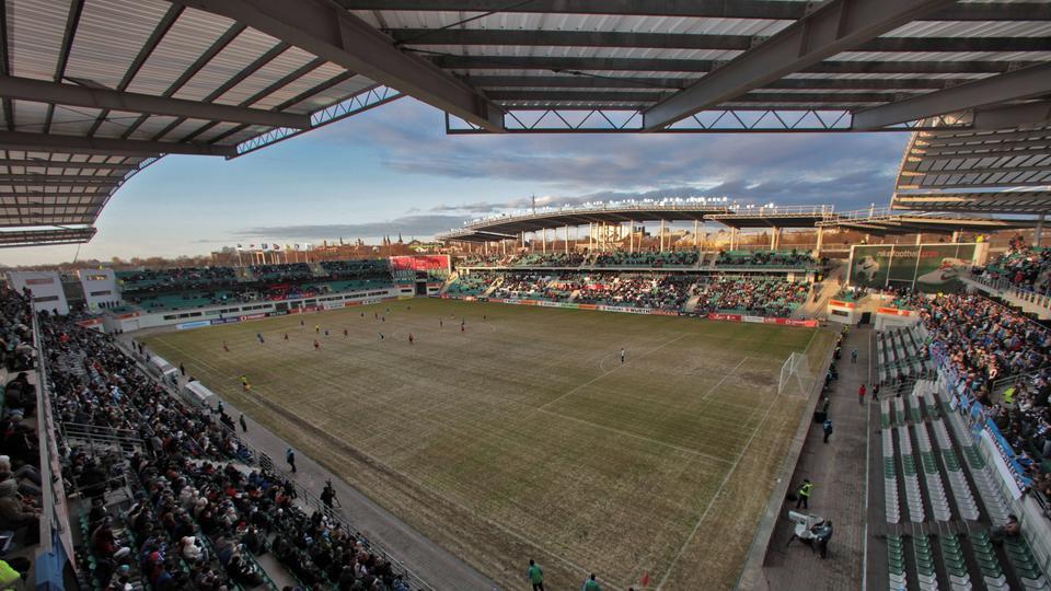 Das Stadion von Flora Tallinn