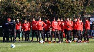 Volles Haus im Eintracht-Training