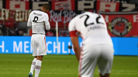 Die Eintracht hat mit der Niederlage in Leverkusen wichtige Punkte verspielt.