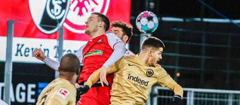 Eintracht in Freiburg