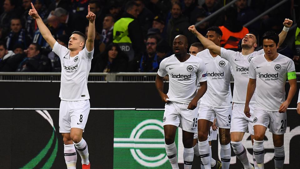 Eintracht stürmt ins Viertelfinale der Europa League