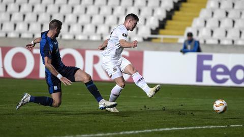 Luka Jovic zieht ab und trifft zur Führung