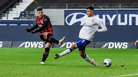 Luka Jovic beim 3:1 gegen Schalke