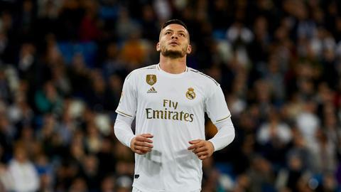 Luka Jovic bei Real Madrid