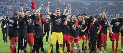 Jubelnde Eintracht