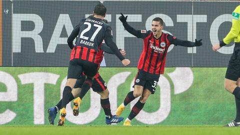 Eintracht Frankfurt Jubel FC Augsburg