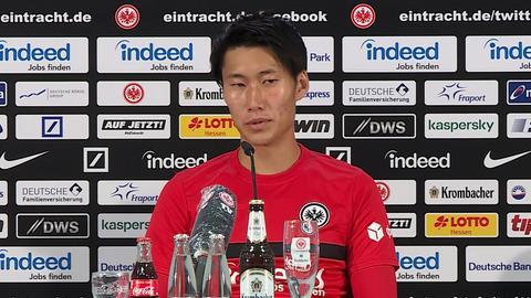 Daichi Kamada Eintracht Frankfurt still