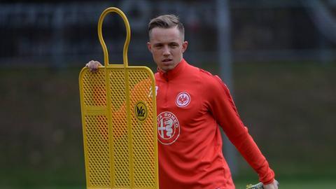 Sonny Kittel beim Eintracht-Training