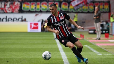 Filip Kostic von Eintracht Frankfurt im Spiel gegen Hoffenheim