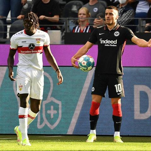 Filip Kostic im Spiel gegen den VfB Stuttgart