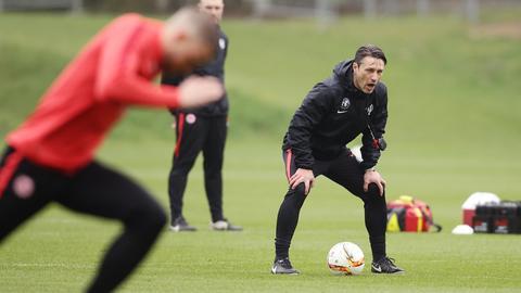 Eintracht Kovac Training