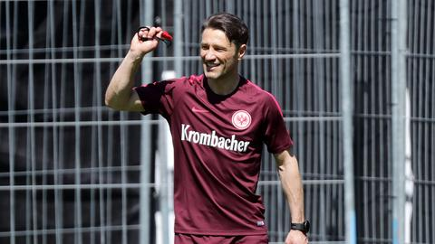 Kovac beim Training