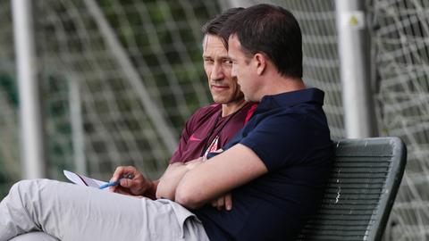 Niko Kovac und Fredi Bobic