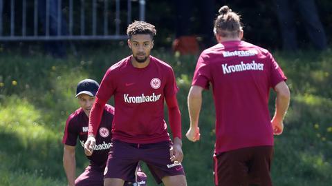 Kovac, Hector und Meier beim Training