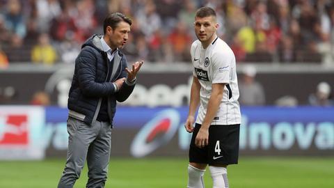Niko Kovac und Ante Rebic