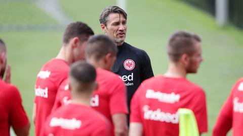 Niko Kovac auf dem Trainingsplatz