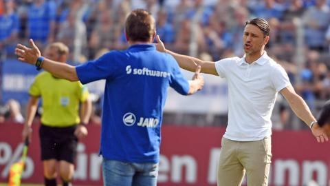 """Vier Hände für den Erfolg? In dieser Saison bewiesen Meier und Kovac häufiger ein """"glückliches Händchen""""."""