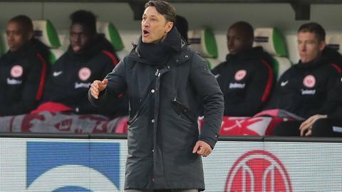 Eintracht-Trainer Niko Kovac war vom Auftritt seiner Mannschaft angetan.