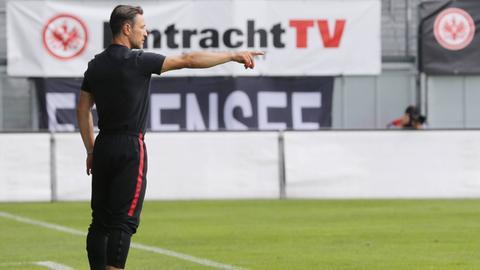 Eintracht-Trainer Niko Kovac erwartet ein klares Ergebnis seiner Mannschaft.