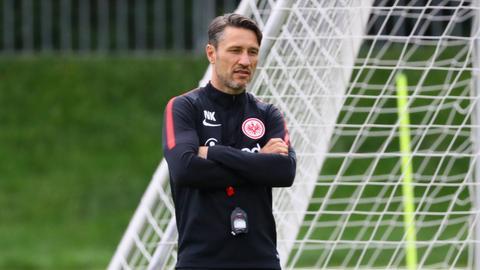 Eintracht-Trainer Niko Kovac vor dem DFB-Pokalspiel