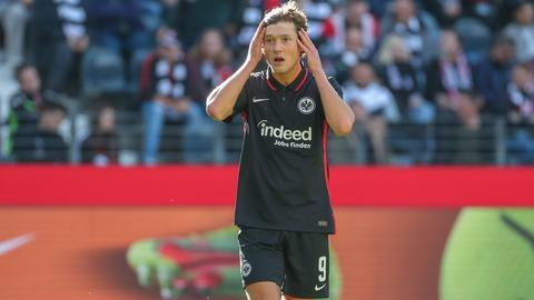 Sam Lammers im Spiel gegen Hertha BSC.