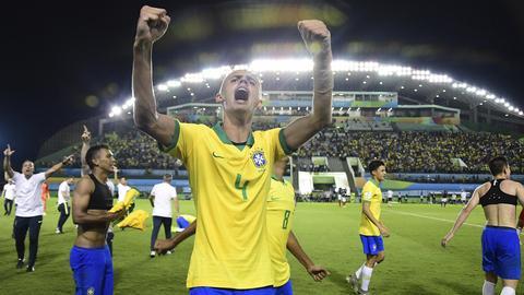 Luan Patrick bei der U17-WM im Jahr 2019