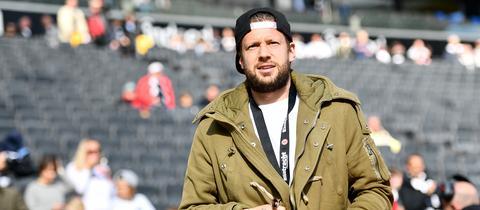 Bald ein gewohntes Bild: Marco Russ als Zuschauer im Frankfurter Stadion