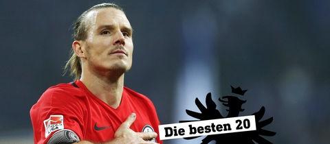 Ein fotografisches Portrait des Fußballers Meier.