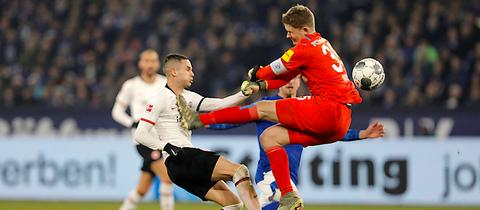 Eintracht Mijat Gacinovic, Alexander Nübel Schalke