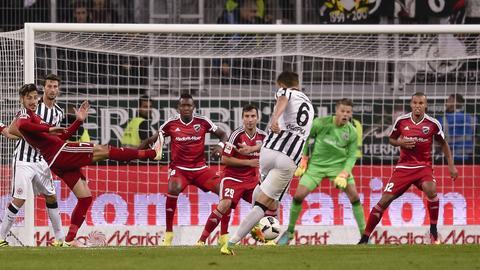 Oczipka trifft zum 2:0 gegen Ingolstadt