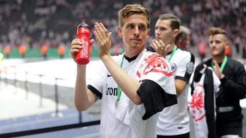 Oczipka nach dem Pokalfinale in Berlin