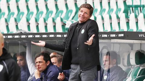 Oliver Glasner beim VfL Wolfsburg