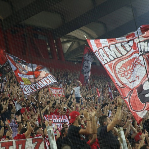 Fans Olympiakos Piräus