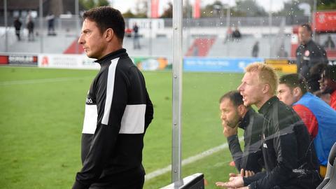 Marco Pezzaiuoli (li.) fungiert als Technischer Direktor als Bindeglied zwischen Nachwuchs und Profis. Derzeit bildet die U19 von Andreas Ibertsberger (re.) den Unterbau.